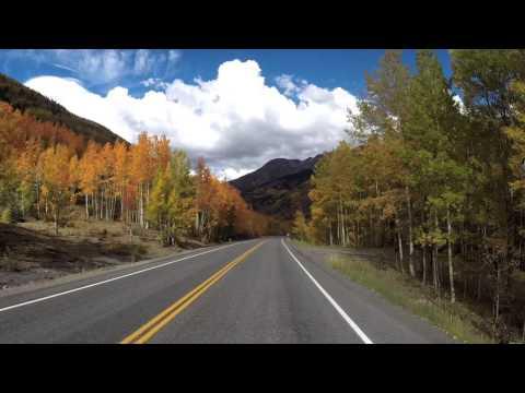 Million Dollar Highway, Silverton To Ouray, Colorado, San Juan Skyway