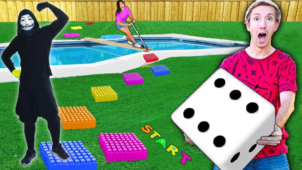 GIANT BOARD GAME CHALLENGE!! Winner Gets Vy Qwaint SECRET Revealed