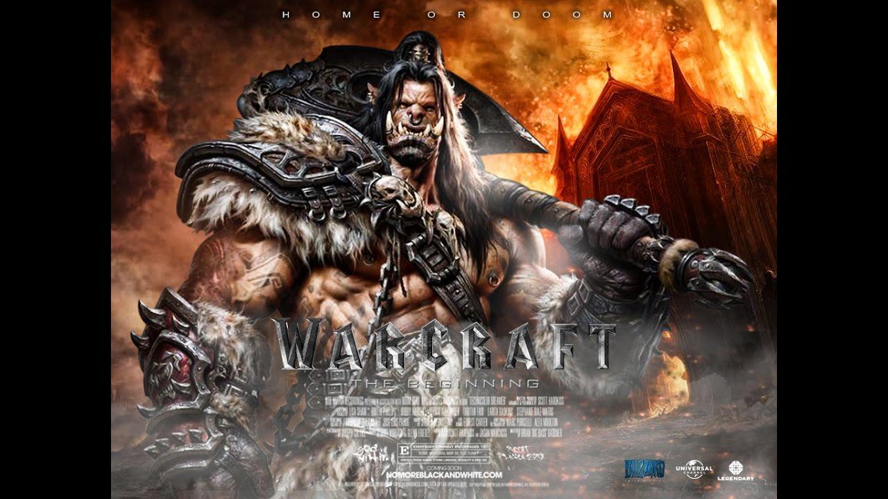 خطوات تصميم بوستر فيلم -  New Photoshop Tutorial Warcraft