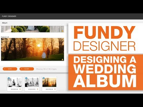 Fundy Wedding Album Design - with Scott Johnson