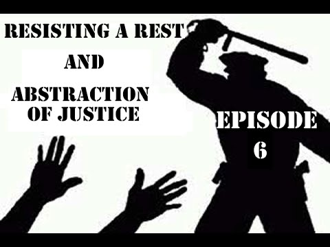 The Police Brutality Show Episode 6 (Resisting A Rest And Abstraction Of Justice)