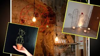 Barb Wire Crafts Inspo.  Recycled Craft Ideas.  Recycled Home Decor