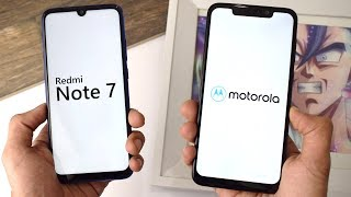 Xiaomi Redmi Note 7 vs Motorola One Power: Speed Test!!!