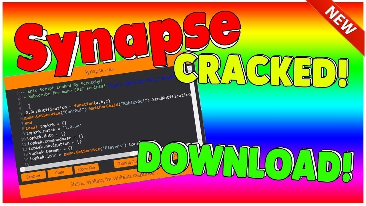 Working Synapse Cracked Roblox Hack Exploit 2018 Youtube