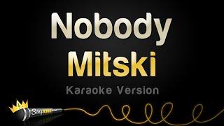 Mitski - Nobody (Karaoke Version)