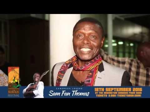 Sam Fan Thomas in Kenya ahead of Koroga Festival