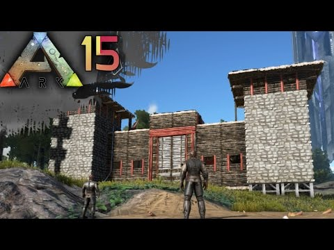 ARK: SURVIVAL EVOLVED E15 - Epic Base & Water Engineering | Docm77 [1080p]