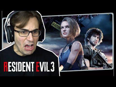 RESIDENT EVIL 3 Remake - O Início De Gameplay, Em Português PT-BR!