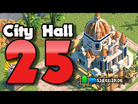 Cost Of My MAX Level City Hall 25 | Rise Of Kingdoms