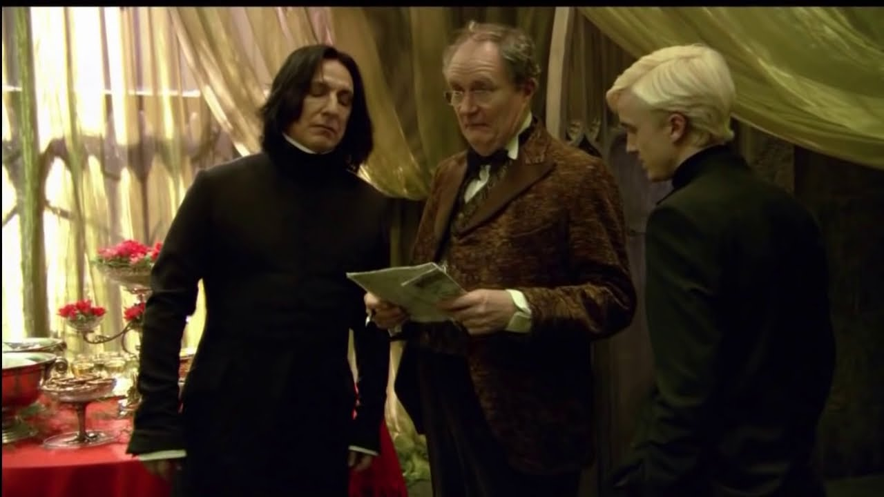 Snape Does The Hairflip Best Youtube Clip Ever Youtube