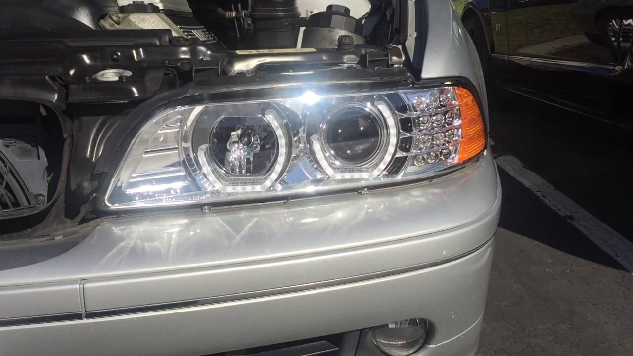 e39 headlight upgrade