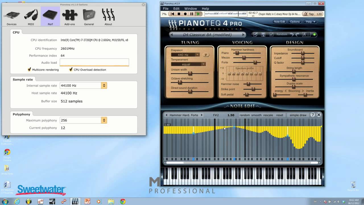 MODARTT Pianoteq 4 Pro Virtual Piano Instrument Demo - Sweetwater Sound
