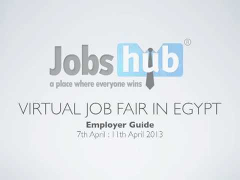 Jobs Hub Virtual Job Fair in Egypt - Employer's Guide