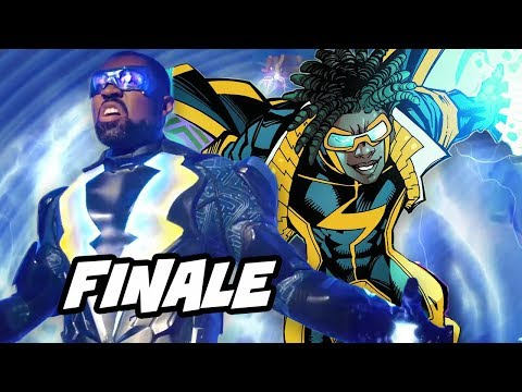 Black Lightning Episode 13 Finale Easter Eggs - Static Shock and Season 2