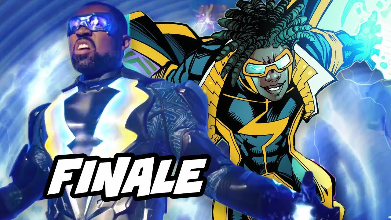 black lightning episode 13 finale easter eggs static