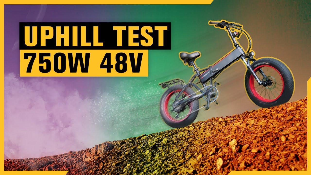 Download BAFANG 750W E-Bike UPHILL   Throttle Only