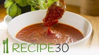 Napolitana pasta sauce (Marinara) tomato sauce for pasta - By www.recipe30.com