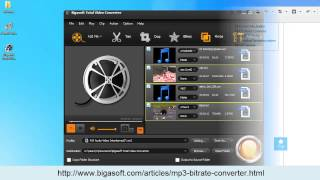 Change/Reduce/Lower/Increase MP3 Bitrate Easily