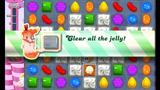 Candy Crush Saga Level 1324 walkthrough (no boosters)