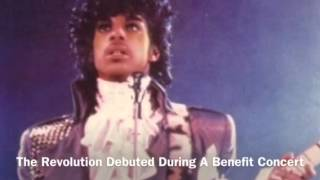 Prince Debuts Backing Band The Revolution (August 3, 1983)
