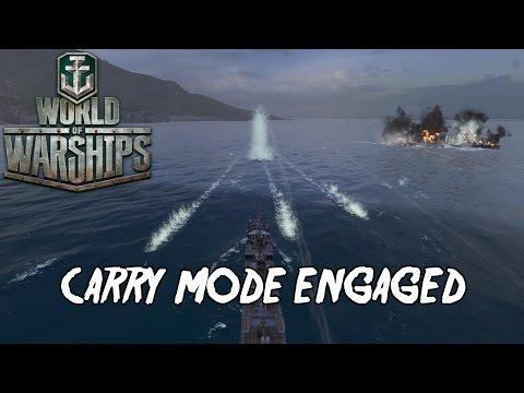 World of Warships - Carry Mode Engaged
