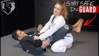 How to Stay Safe & Postured in Closed Guard
