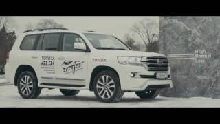 Лиса Рулит и рассказывает про Toyota Land Cruiser 200 Executive