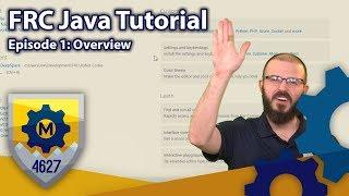 FRC Java Tutorial WPILib 2019 Command Based Framework Ep 1 Overview