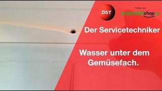 Aeg Kühlschrank Wasser Unter Gemüsefach : Der servicetechniker