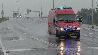 Brandweer Mijdrecht [ 09-1311 ] met Spoed naar een Ongeval in Amstelveen