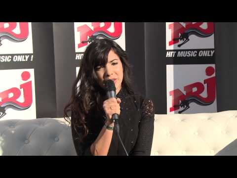 Indila - Interview au NRJ Music Tour - Bruxelles