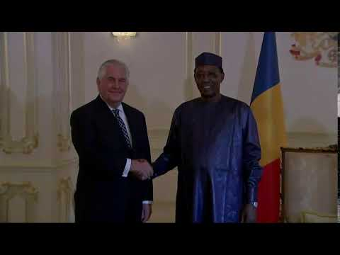 Secretary Tillerson Meets with Chadian President Deby