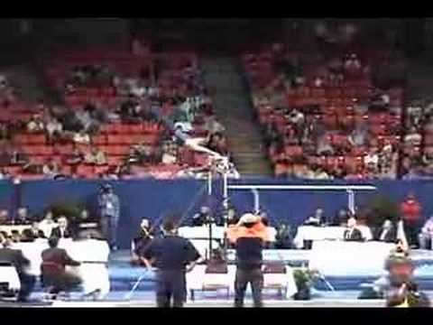 Justin Spring High Bar 2006 NCAA Nationals EF