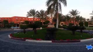 Путешествие  в Египет и обозрение территории отеля, зелено вокруг