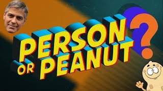 Person or Peanut: Superheros