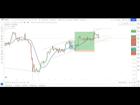 XAUUSD LIVE TRADE Sell 7th september 2021/ Forex live London and NY session