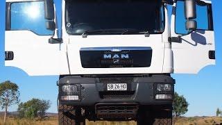 MAN 4x4 Expedition Truck Cer Kimberley WA Trip 2015