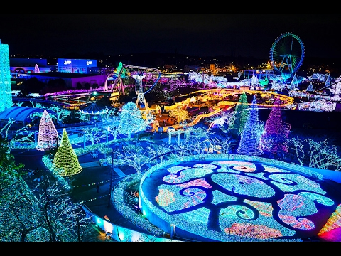 YOMIURI LAND  JAPAN 2017 Illumination PARQUE DE ATRACCIONES  よみうりランド