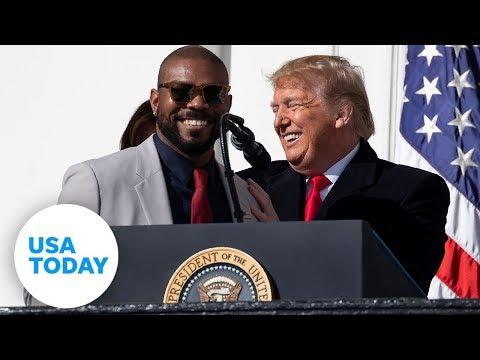 White House Welcomes Washington Nationals | USA TODAY
