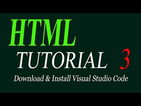 Download & Install Visual Studio Code |HTML tutorial for beginners in Urdu/Hindi 2019 thumbnail