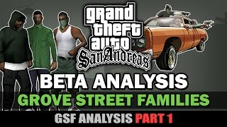 GTA SA - Beta Grove Street Members [GSF Beta Analysis] [Part 1]
