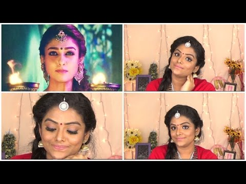 TAMIL:Nayanthara Inspired makeup look from kashmora movie  Duskyprincess