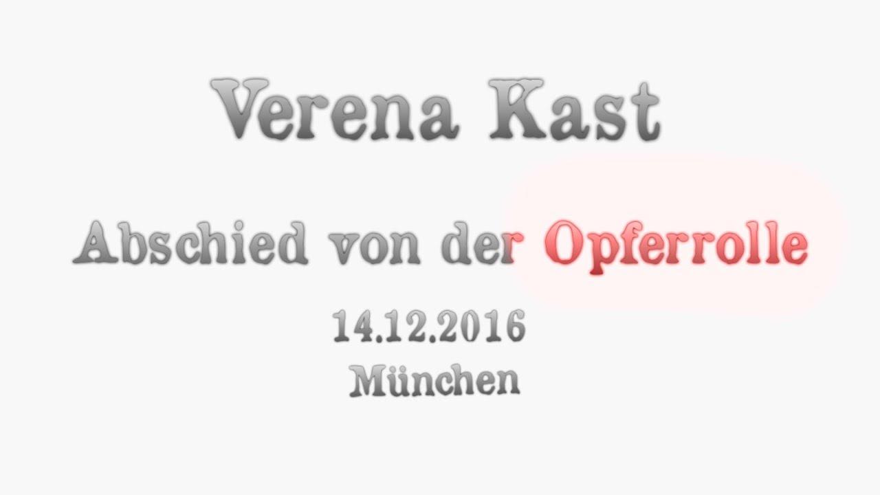 Verena Kast Abschied Von Der Opferrolle Lmu 14122016