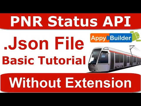 Railway PNR Status API Key With JSON Responses | Indian Railway API Key | JSON Basic Tutorial