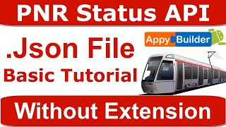Railway PNR Status API Key with JSON Responses   Indian Railway API Key   JSON Basic Tutorial