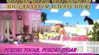 barbie girl aqua con letra lyrics subtitulada en español e ingles