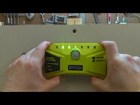 Ryobi Whole Stud Detector ESF5000 Review