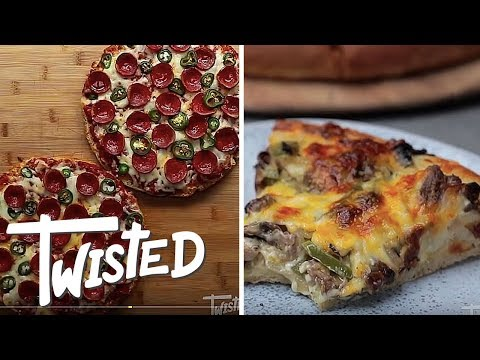 8 Cheesy Pizza Twists | Homemade Pizza Recipes | Twisted