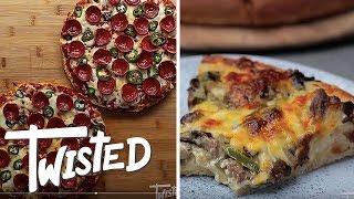 8 Cheesy Pizza Twists | Homemade Pizza Recipes | Twisted