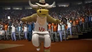 NCAA 08 March Madness PS3 #4 North Carolina Tar Heels vs #25 Texas Longhorns video game